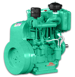 2 CYLINDER AIR COOLED DIESEL ENGINE (7.5 KVA/10.0KVA)