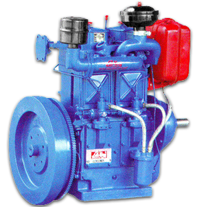 2 CYLINDER WATER COOLED DIESEL ENGINE